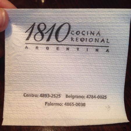 1810 Cocina Regional Argentina: photo0.jpg