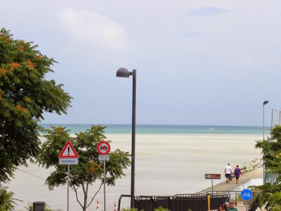 Hotel Crosal,: Вид с балкона