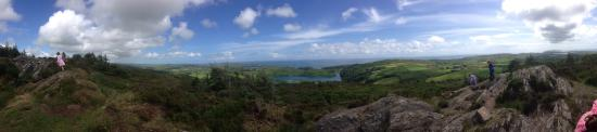 Lough Hyne: Beautiful views from Knockamagh Hill