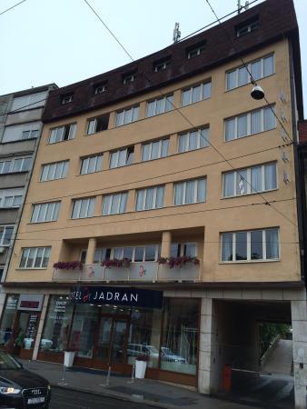 Fachada Hotel Jadran Picture Of Hotel Jadran Zagreb Tripadvisor