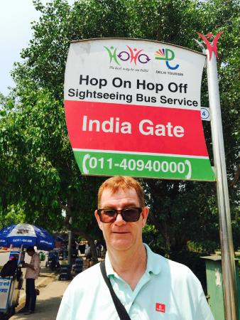 HOHO Delhi: Waiting patiently in the scorching heat