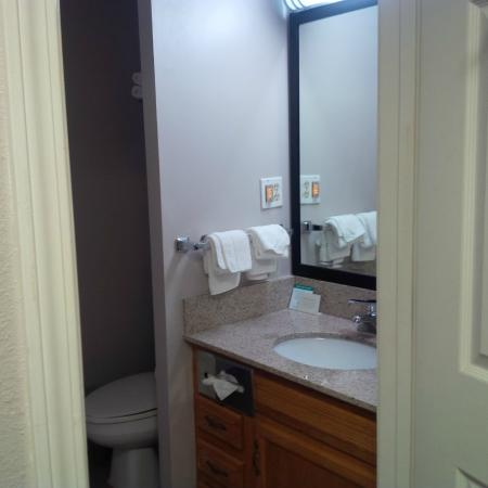 Quality Inn & Suites University/Airport : Bathroom
