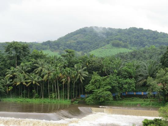 Chalakudy, India: Scenery over the dam