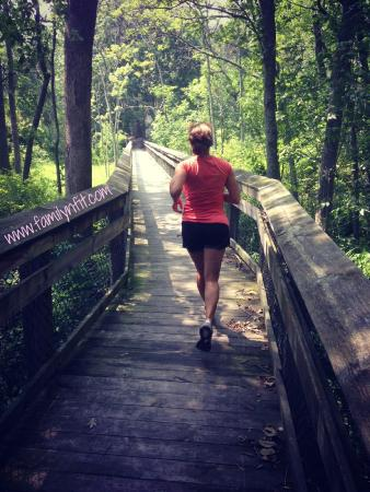 Leesylvania State Park: Loved the fit trail