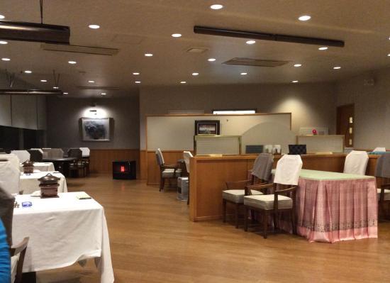 Nukui Springs : レストラン内部
