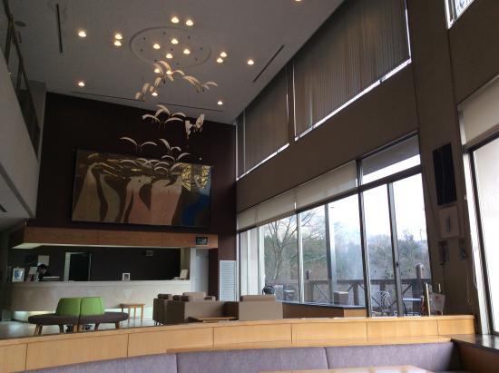 Nukui Springs : ロビーの天井高いです。