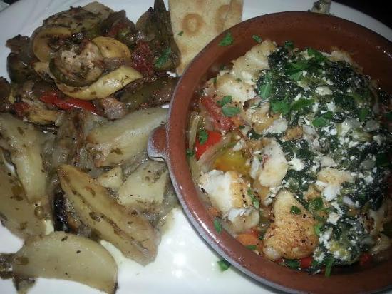 Samos Restaurant: Sea Bass Meal