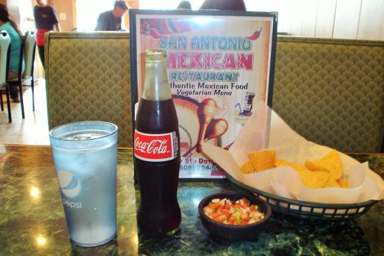 San Antonio Mexican Restaurant: Pop in a bottle.  :)