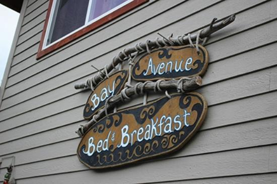 Bay Avenue Bed and Breakfast: welcome