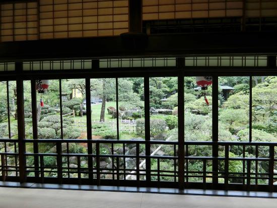 Kagetsu: 二階の大広間 さださんはこんな素敵なところで結婚式を・・