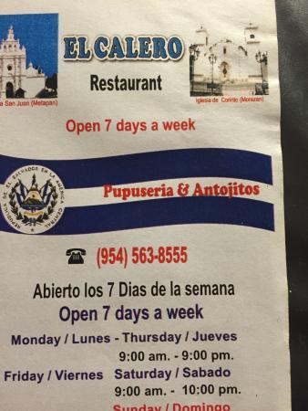 El Calero Restaurant