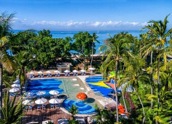 Prama Sanur Beach Bali: Family Pool & Splash Zone