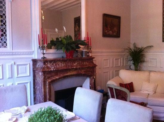 Chateau de Launay: Breakfast Room
