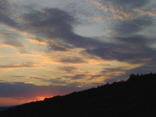 Bianco Olympico: Μαγευτικό ηλιοβασιλεμα