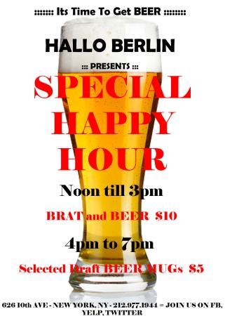 Photo of German Restaurant Hallo Berlin at 626 10th Ave, New York, NY 10036, United States