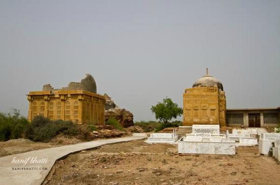 Mirpur Khas, Pakistan: Chitori Graveyard