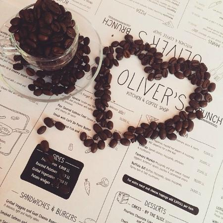Oliver\'s Loves You - Picture of Oliver\'s Kitchen & Coffee Shop ...