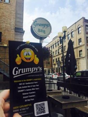 Grumpy's Transfers & Tours: Grumpy meets Grumpys