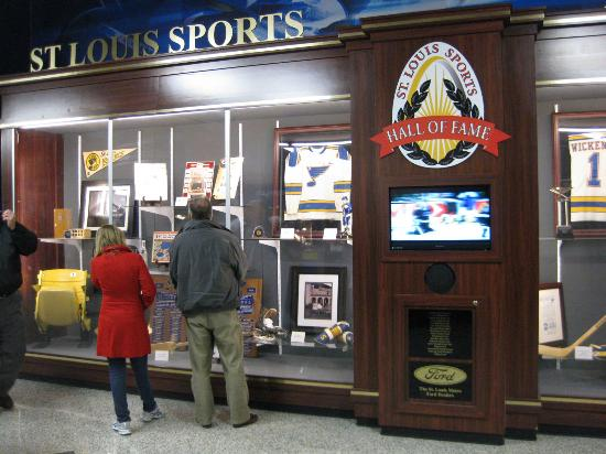 Scottrade Center: St.Louis Sports Hall of Fame