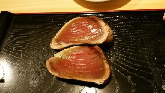 Koyoshi: Omakase - Katsuo, bonito fish/skipjack