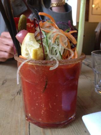 Tillington, UK: Fantastic Bloody Mary