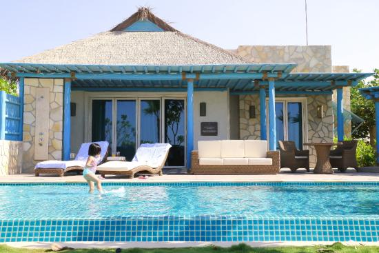 Our Private Pool And The Villa Picture Of Banana Island Resort Doha By Anantara Doha