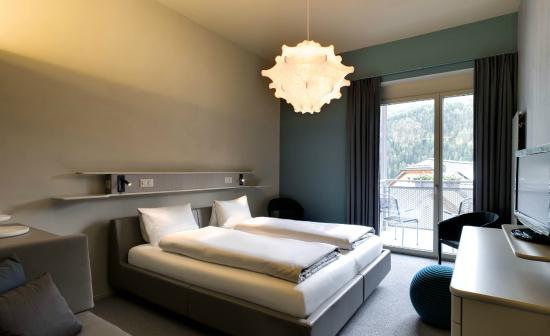 Zimmer im Badehotel Belvair