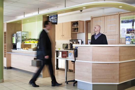 Ibis Budget Mantes la Jolie: lobby hotel