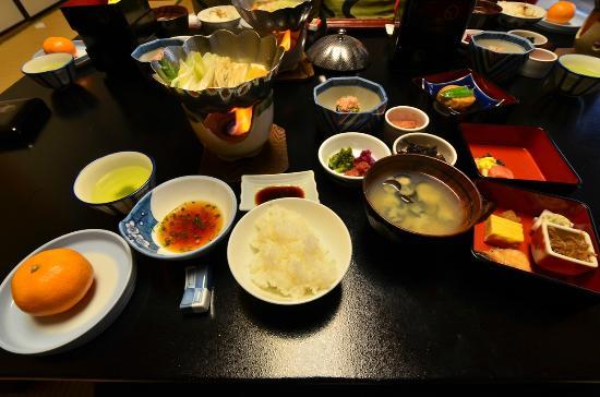 Arai Ryokan: หนึ่งในชุดอาหาร