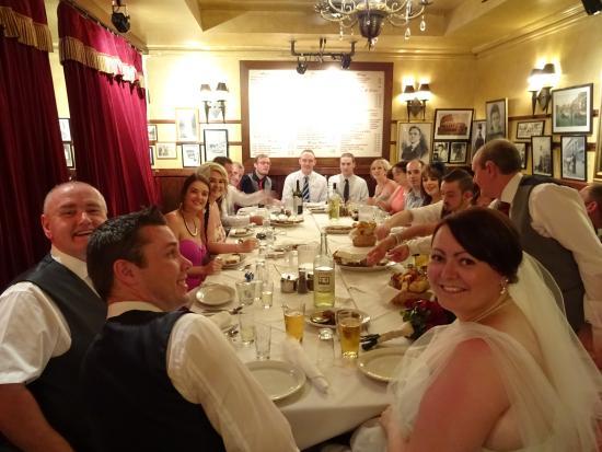 Carmines Wedding Reception 10th June Picture Of Carmines Italian