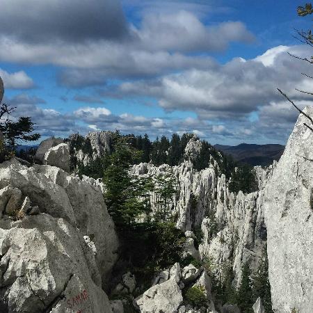 Mrkopalj, Kroatien: Bijele stijene