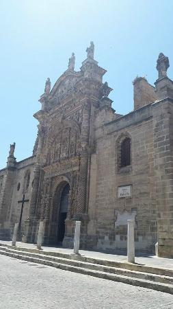 Iglesia Mayor Prioral: Главный фасад