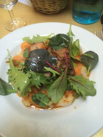 Longchamp Palace : Un bon plat au Porc