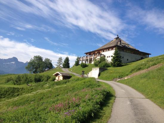 Villars-sur-Ollon, Switzerland: Club House du Golf de Villars