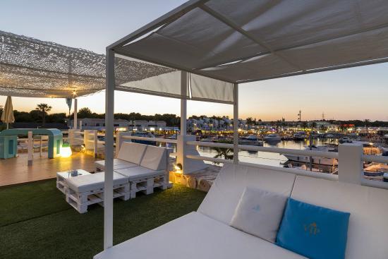 Vista a rea del hotel picture of casas del lago hotel spa beach club adults only - Hotel casas del lago menorca ...