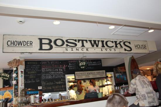 Bostwick's Chowder House: Bostwick's!