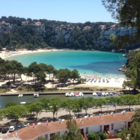 Apartamentos Cala Galdana: A vista da Nossa Janela