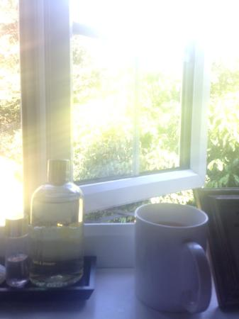 Fairlight, UK: View from the bath