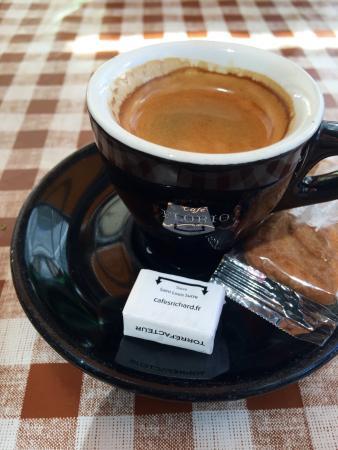 Bistro de L'arche : Espresso