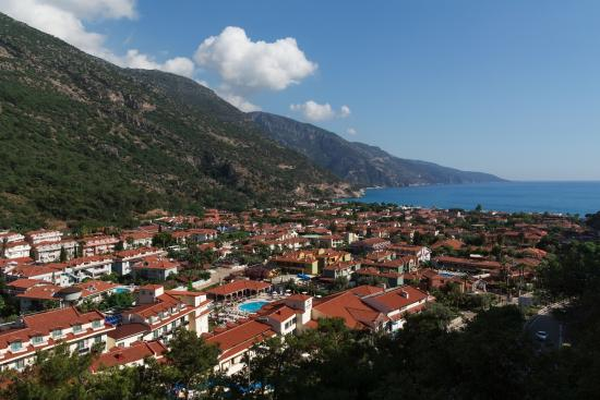 Belle Vue Hotel: Вид на Олюдениз