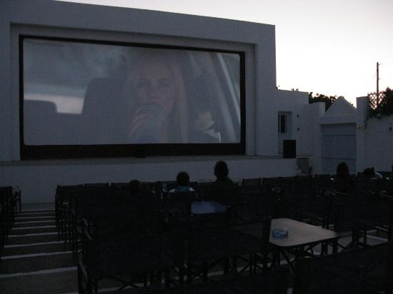 Cine Rex - Therinos: The picture quality is low because it was quite dark.