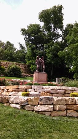 Tom and Huck's Statue Foto