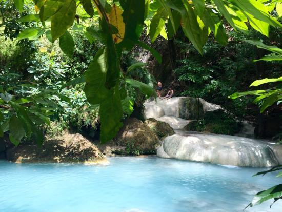 Công Viên Quốc Gia Erawan, Thái Lan: Una de las cascadas