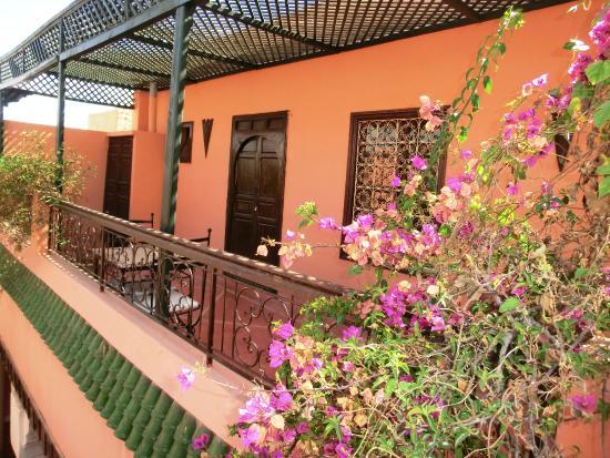 Riad Yamsara: terrasse