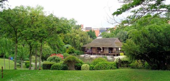 La maison au c ur du jardin japonais photo de jardin for Le jardin japonais toulouse