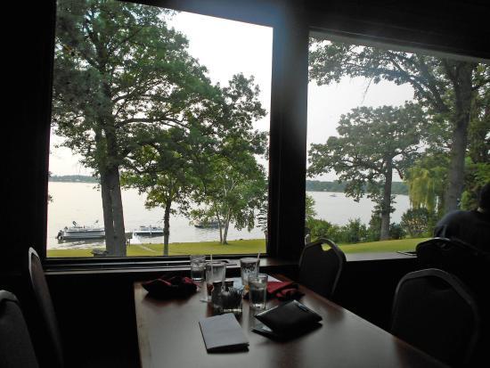 Delavan, WI: view we had of lake