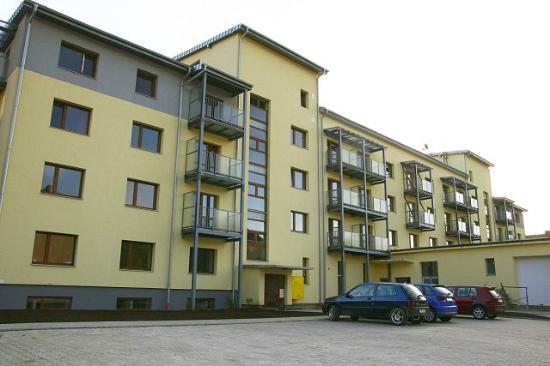 Rear of Liptov Apartments