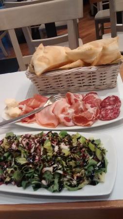 La Via Emilia: Food at La Via Emelia