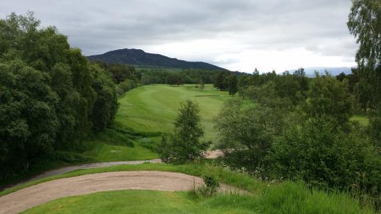 Newtonmore Golf Club: Hole 3