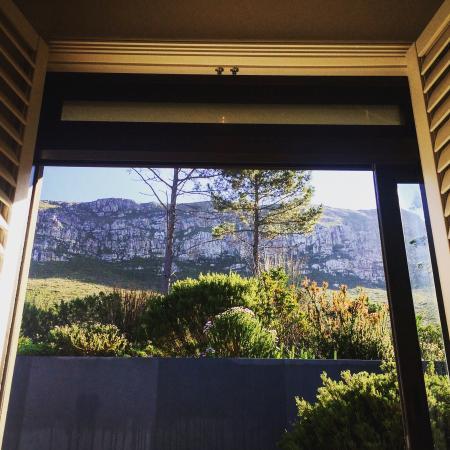 Selkirk House: View from Room #5 sliding door